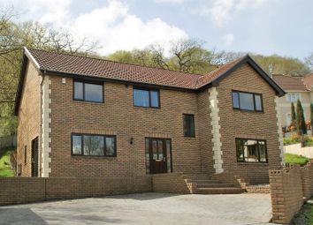 Thumbnail 4 bed property for sale in Wern Olau, Cilfrew, Neath