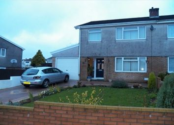 Thumbnail 3 bed property to rent in Llys Aneirin, Swansea