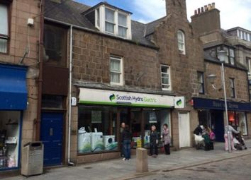 Thumbnail Retail premises for sale in Marischal Street, Peterhead