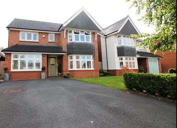 Thumbnail 4 bedroom detached house for sale in Poppywood Avenue, West Timperley, Altrincham