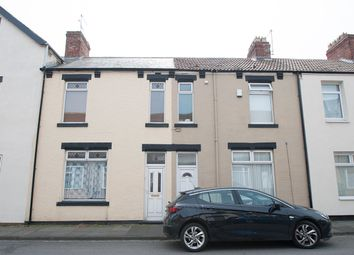 Thumbnail 3 bed terraced house for sale in Cornwall Street, Hartlepool
