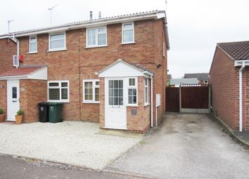 Thumbnail 2 bed semi-detached house for sale in Appletree Road, Hatton, Derby