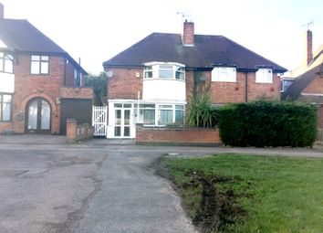 Thumbnail 3 bed semi-detached house for sale in Goodwood Road, Leicester