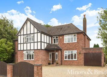 Thumbnail 5 bed detached house for sale in St. Williams Way, Norwich