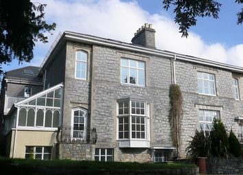 Thumbnail 1 bed flat for sale in Park Street, Bridgend
