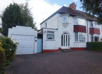 Thumbnail 3 bed semi-detached house for sale in Wilderness Lane, Great Barr, Birmiingham