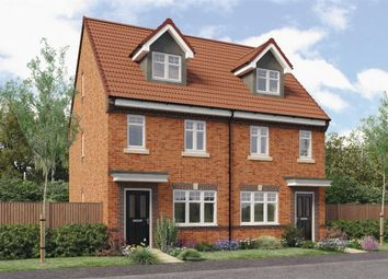 "Thumbnail 3 bed mews house for sale in ""Tolkien"" at Croston Road, Farington Moss, Leyland"