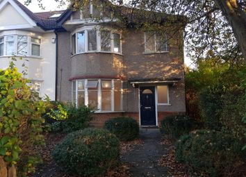 Thumbnail 3 bed semi-detached house to rent in Headstone Lane, Harrow
