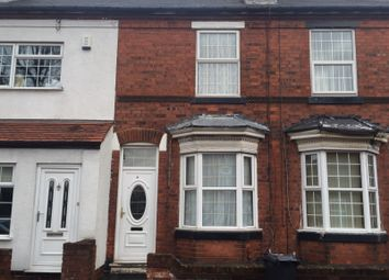 Thumbnail 4 bed terraced house to rent in Hereford Street, Walsall, West Midlands