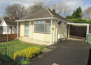 Thumbnail 2 bed detached bungalow for sale in Mon Crescent, Southampton