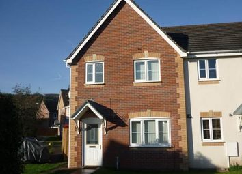 Thumbnail 3 bed property to rent in Hollyhock Close, Afon Village, Rogerstone