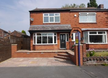 Thumbnail 2 bed semi-detached house to rent in Langdale Avenue, Swinley, Wigan