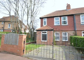 Thumbnail 3 bed end terrace house to rent in Linden Avenue, Fenham, Newcastle Upon Tyne