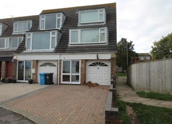 Thumbnail 4 bedroom end terrace house to rent in Perry Gardens, Poole