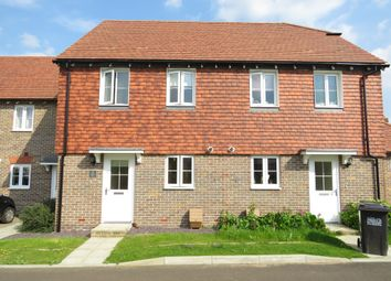 Thumbnail 2 bed terraced house for sale in Riggers Way, Hailsham