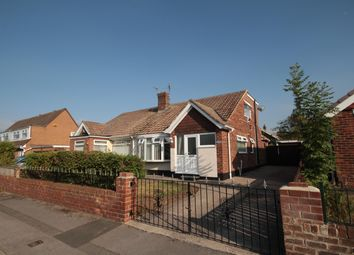 Thumbnail 3 bedroom semi-detached bungalow for sale in Cedar Road, Ormesby, Middlesbrough