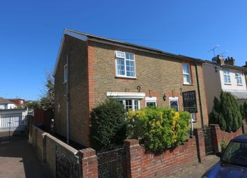 Thumbnail 3 bed semi-detached house for sale in Hummer Road, Egham