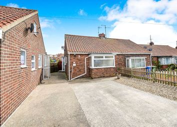 Thumbnail 1 bed bungalow for sale in Mount Crescent, Bridlington, East Yorkshire
