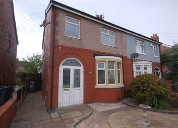 Thumbnail 3 bed semi-detached house for sale in Stamford Avenue, Blackpool