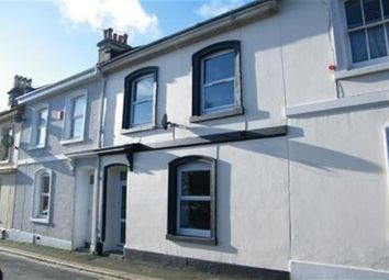 Thumbnail 1 bed flat to rent in Clarence Place, Devonport, Plymouth
