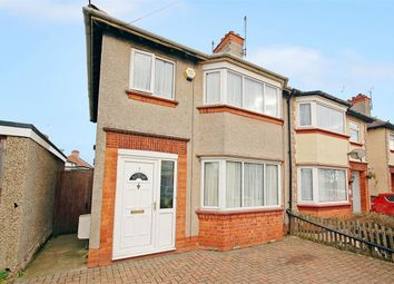 Thumbnail 3 bed semi-detached house for sale in Bushland Road, Headlands, Northampton