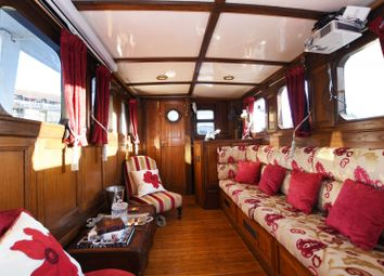Thumbnail 2 bed houseboat for sale in Blackwall Basin 420 Manchester Road, London