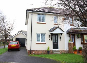 Thumbnail 2 bed semi-detached house for sale in Meadow Park, Roundswell, Barnstaple