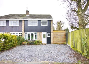 Thumbnail 3 bed semi-detached house for sale in Priory Mead, Doddinghurst, Brentwood, Essex