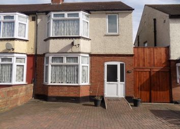 Thumbnail 3 bed semi-detached house to rent in Beechwood Road, Luton