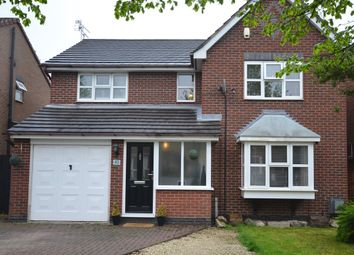 Thumbnail 4 bedroom detached house for sale in Tyler Road, Ratby, Leicester