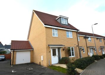 Thumbnail 4 bed semi-detached house for sale in The Croft, Little Canfield, Dunmow