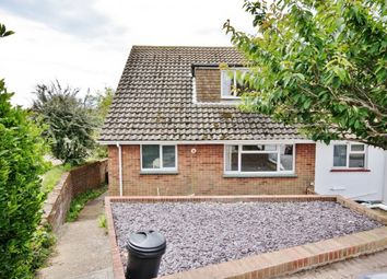 Thumbnail 3 bed bungalow to rent in Lewes Close, Saltdean, Brighton