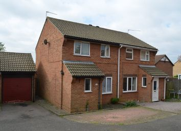Thumbnail 3 bed semi-detached house for sale in Hintlesham Drive, Felixstowe