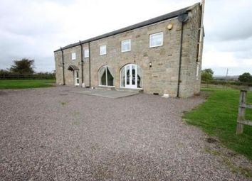 Thumbnail 3 bed detached house to rent in West Coldside Barn, Mitford, Morpeth