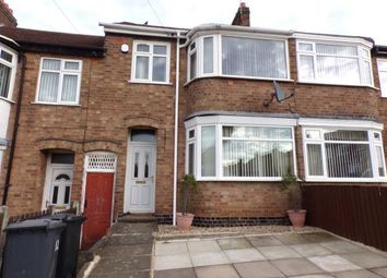Thumbnail 3 bed terraced house for sale in Cheshire Road, Aylestone, Leicester, Leicestershire