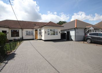 Thumbnail 3 bed semi-detached bungalow for sale in Spencer Gardens, Ashingdon, Rochford