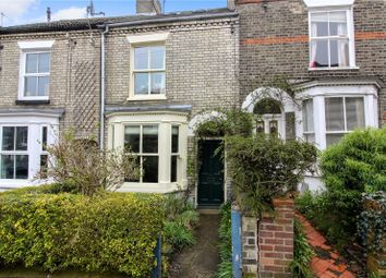 Thumbnail 3 bedroom terraced house for sale in Caernarvon Road, Norwich