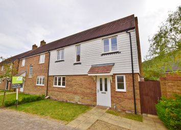 Thumbnail 4 bed semi-detached house to rent in Rutledge Avenue, Bridgefield, Ashford, Kent
