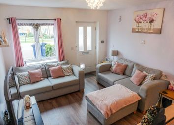Thumbnail 2 bed terraced house for sale in Meadow Gardens, Huntingdon