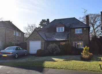 Thumbnail 3 bed detached house for sale in Foxhill Crescent, Camberley, Surrey