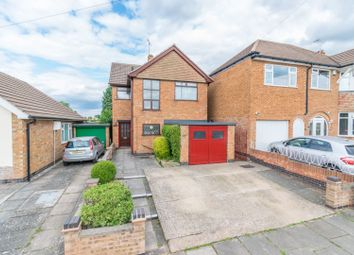Thumbnail 3 bed detached house for sale in Davenport Road, Leicester
