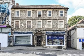 Thumbnail 2 bed flat for sale in High Street, Warminster