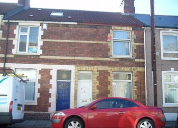 Thumbnail 2 bed terraced house to rent in Durham Street, Grangetown, Cardiff