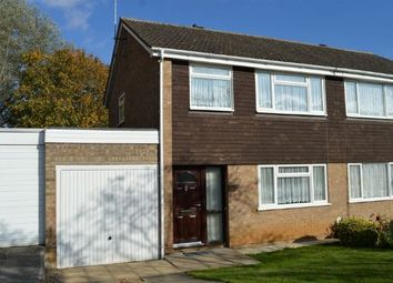 Thumbnail 3 bed semi-detached house for sale in Spanslade Road, Standens Barn, Northampton