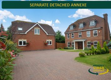 Thumbnail 6 bed detached house for sale in Chestnut Drive, Oadby, Leicester
