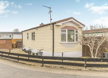 Thumbnail 1 bed bungalow for sale in Dukesmead Mobile Home Park, Werrington, Peterborough