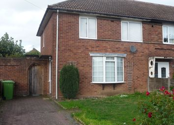 Thumbnail 3 bed end terrace house to rent in Stanhope Way, Great Barr, Birmingham