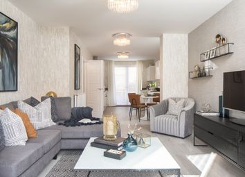Thumbnail 2 bed flat for sale in Pascal Square At Trinity Square, Coxwell Boulevard, Colindale, London