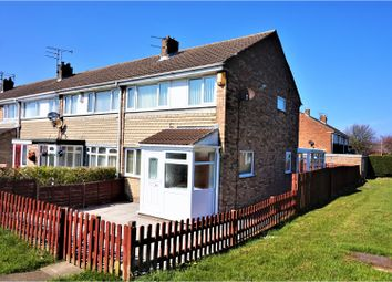 Thumbnail 3 bed end terrace house for sale in Barnston, Ashington