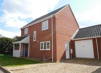 Thumbnail 3 bed link-detached house for sale in Yareview Close, Reedham, Norwich
